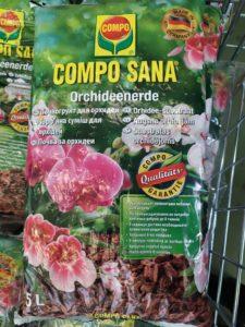 Грунт для орхидей compo sana