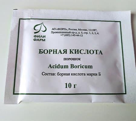 Борная кислота для орхидей1