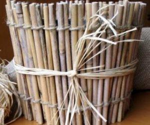 Бамбуковый горшок для орхидей